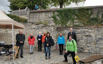 Feierliche Eröffnung des Klara von Assisi Weges
