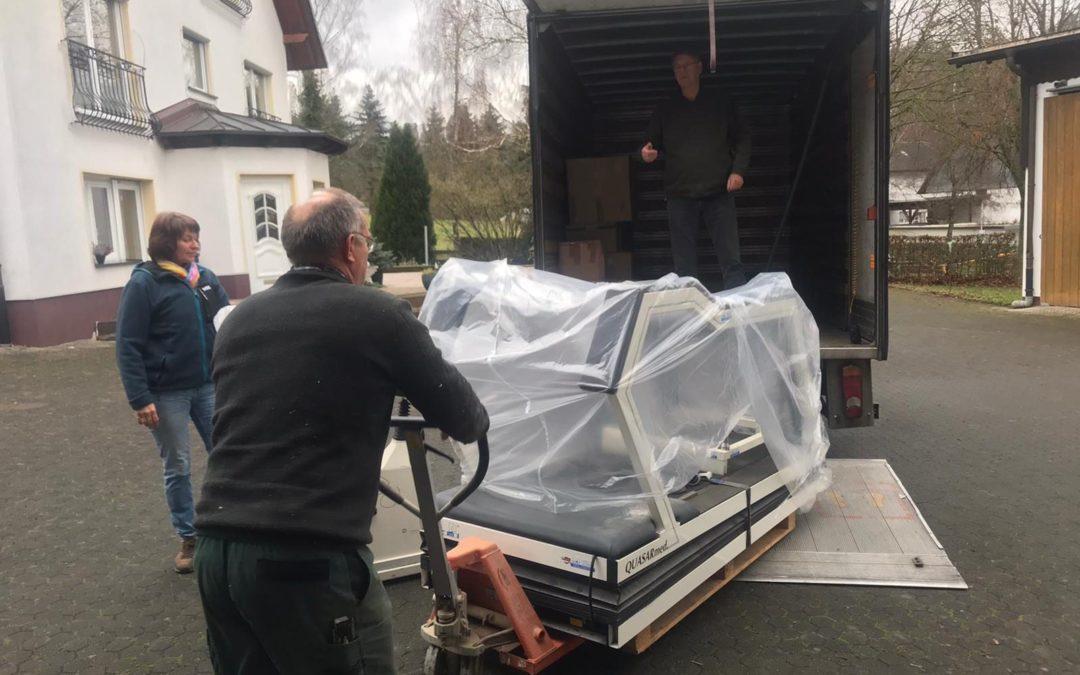 Hilfe aus Lennestadt ist unterwegs – Hochwertige medizinische Geräte auf dem Weg nach Somalia