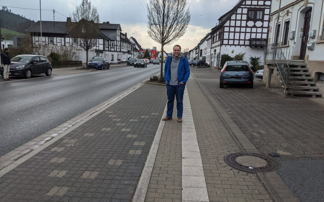 """SPD packt """"Mängelliste"""" an – Elsper Ratsvertreter vor Ort mit dem Ordnungsamt"""